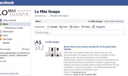 ¡Ya tenemos página en Facebook!