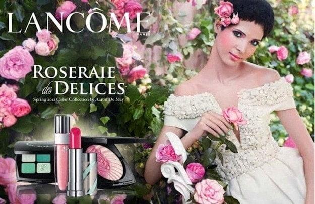 Lancome vuelve a sorprender esta primavera con la colección Roseraie des Delice
