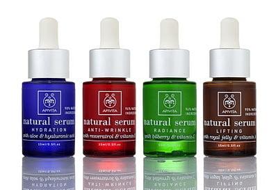 Apivita lanza cuatro nuevos serums