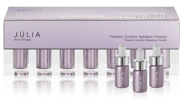 Perfumerías Júlia presenta PCHP 14, su nuevo tratamiento de choque contra las arrugas
