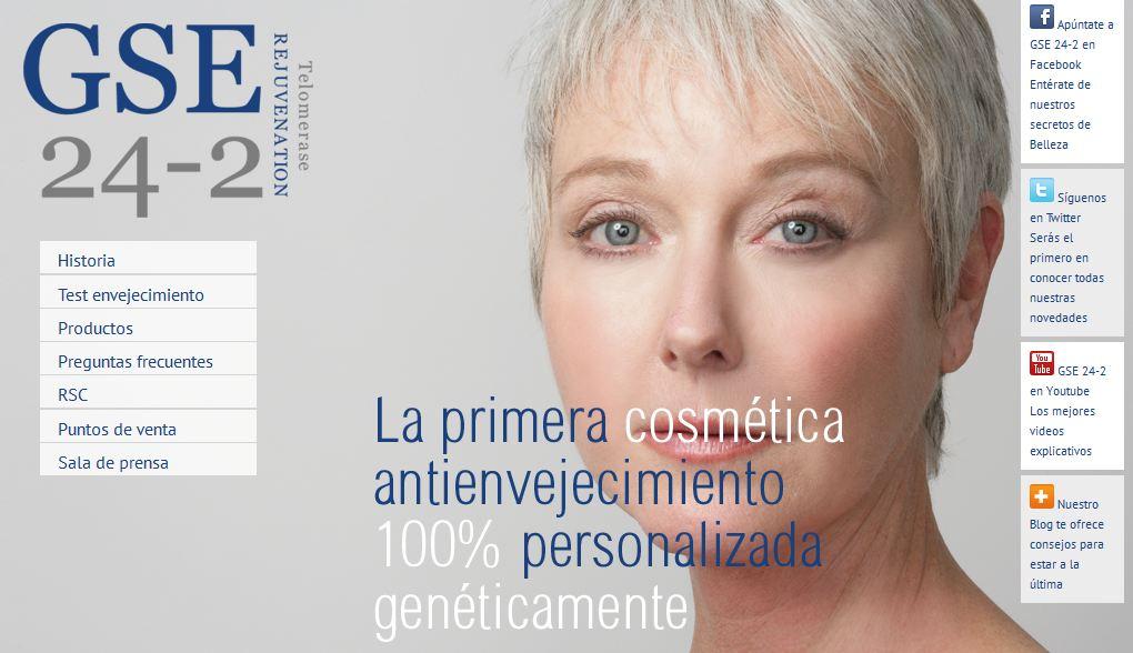 GSE24-2, alta cosmética que ayudará a los demás
