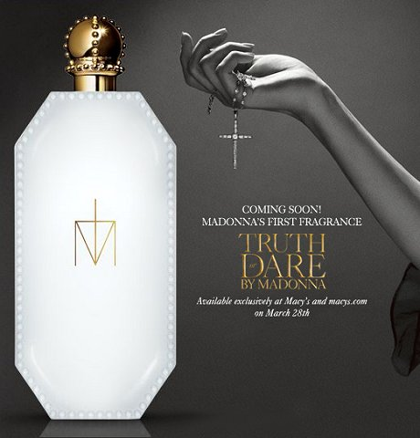 Truth or dare, el primer perfume de Madonna