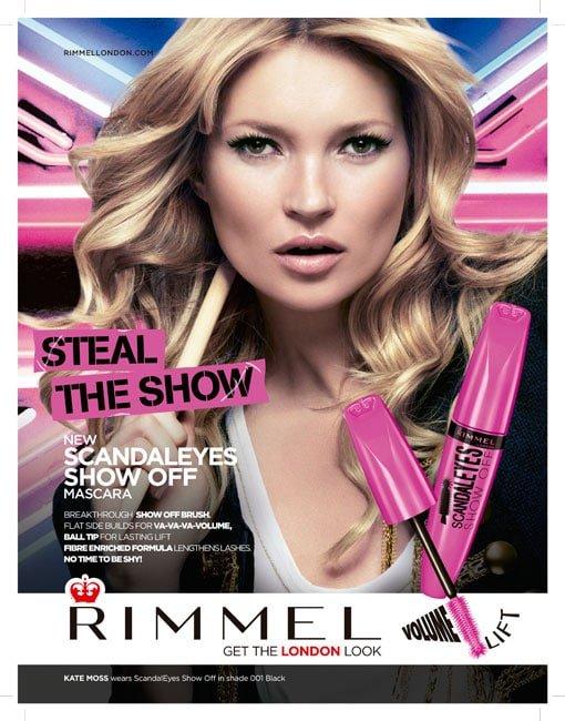 Rimmel London presenta su nueva máscara de pestañas: ScandalEyes Show Off