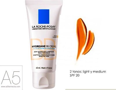 Hydreane de La Roche Posay, una BB Cream para pieles sensibles