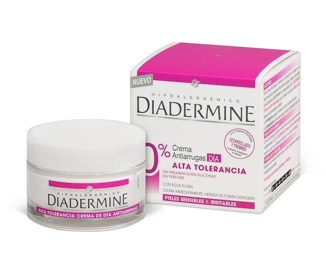 Diadermine presenta una crema de alta tolerancia antiarrugas. Interesante