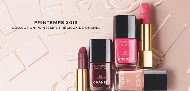 coleccion de maquillaje chanel primavera 20131 Chanel nos presenta su colección de maquillaje primavera 2013