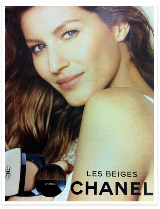 Gisele Bündchen, nueva imagen de Chanel
