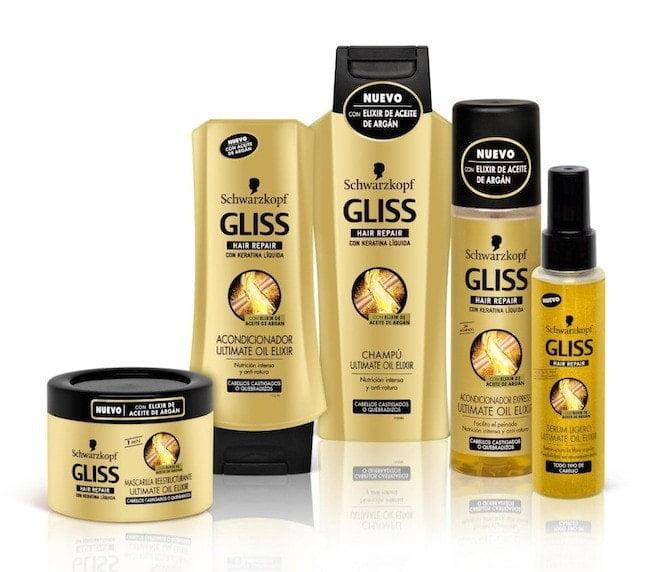 Repara tu pelo con la nueva gama de Gliss Ultimate Oil Elixir