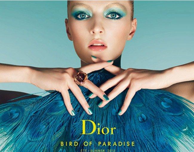 """Dior presenta su nueva colección para el verano: """"Bird of paradise"""""""