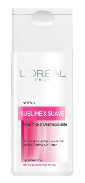 Prueba la nueva agua micelar desmaquillante de L'Oréal
