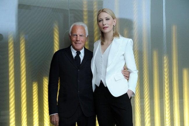 Sí, el nuevo perfume de Giorgio Armani con Cate Blanchett como musa