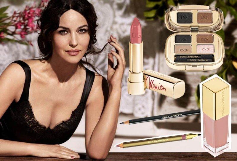 """True Monica, la nueva colección de maquillaje de Dolce&Gabbana inspirada en """"la Bellucci"""""""