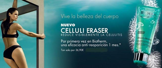 Celluli Eraser, el nuevo anticelulitico de Biotherm