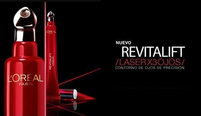 L´Oréal presenta su nuevo contorno de ojos Revitalift Laser X3