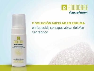 La primera solución micelar en espuma llega de la mano de Endocare