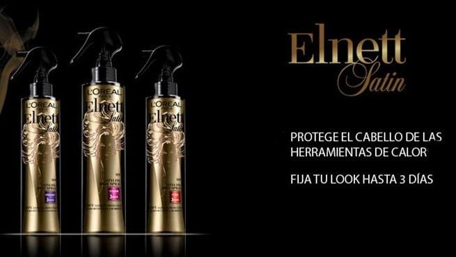 Protege tu pelo del calor con Elnett de L'Oreál