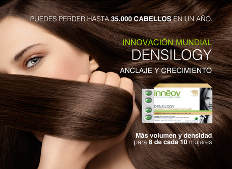 Inneov Densilogy te ayuda a fortalecer tu cabello desde dentro