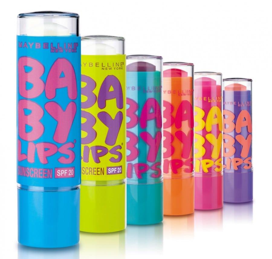 """Nuevos """"Baby Lips"""" de Maybelline"""