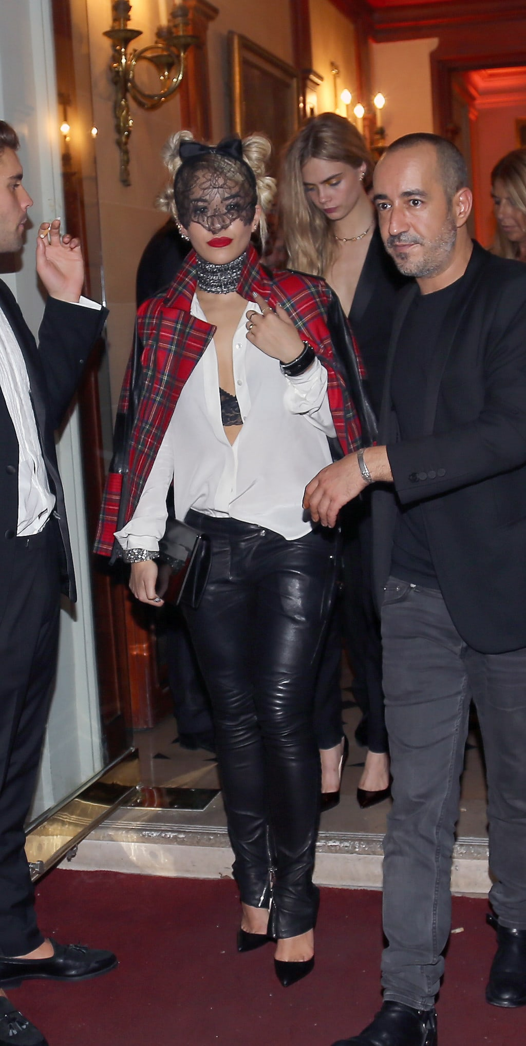 Carine Roitfeld's after party in Paris
