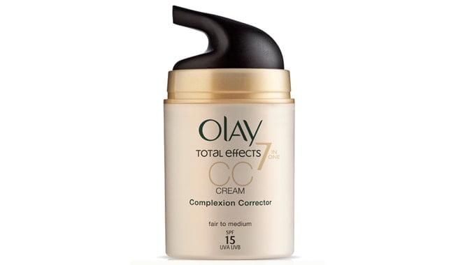 La CC Cream Total Effects de Olay cuida la piel a la vez que la maquilla