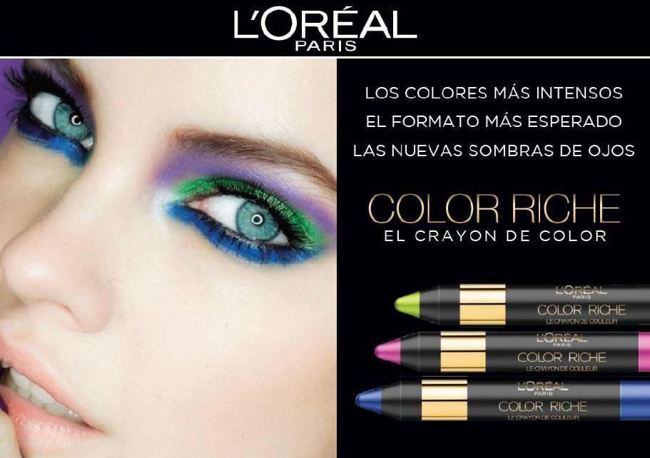 """Os mostramos las nuevas sombras en lápiz """"Le Crayón"""" de L'Oréal"""