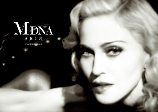 Madonna se adentra en el terreno de la cosmética con MDNA SKIN