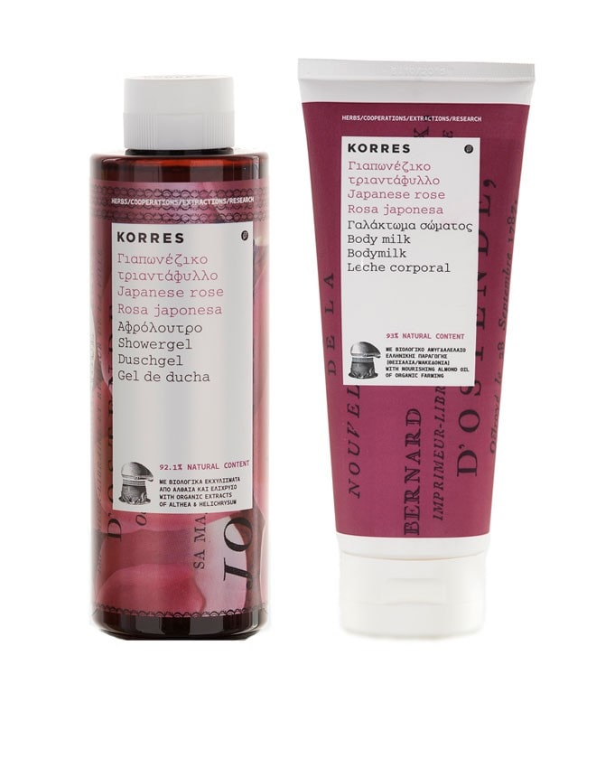 Korres Natural Products Water Lily Blossom Body Care Set