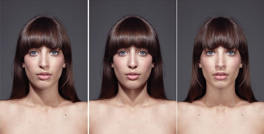 Los rostros simétricos, ¿los más bellos?