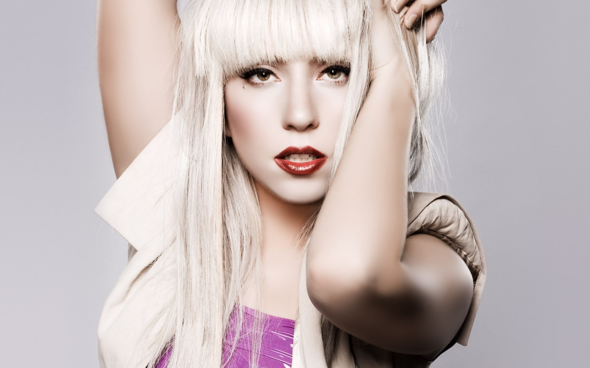 Se filtran unas imágenes de Lady Gaga sin maquillaje
