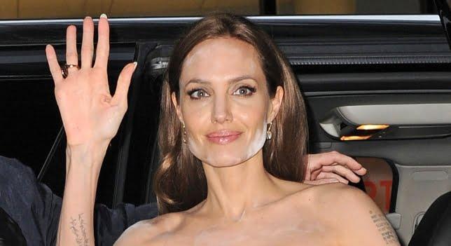 Angelina Jolie y sus problemas con el maquillaje