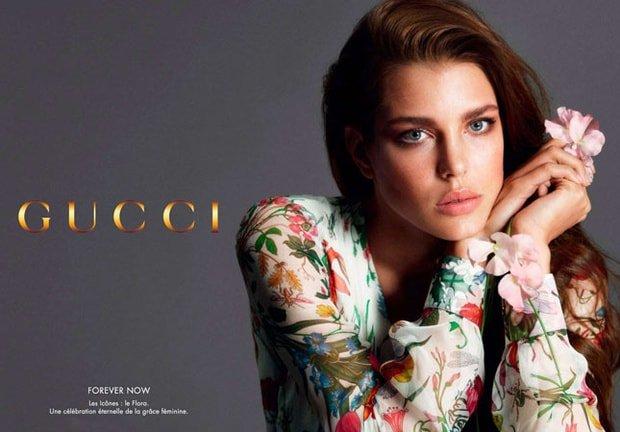 Gucci lanza su primera línea de cosméticos. Carlota Casiraghi será su embajadora