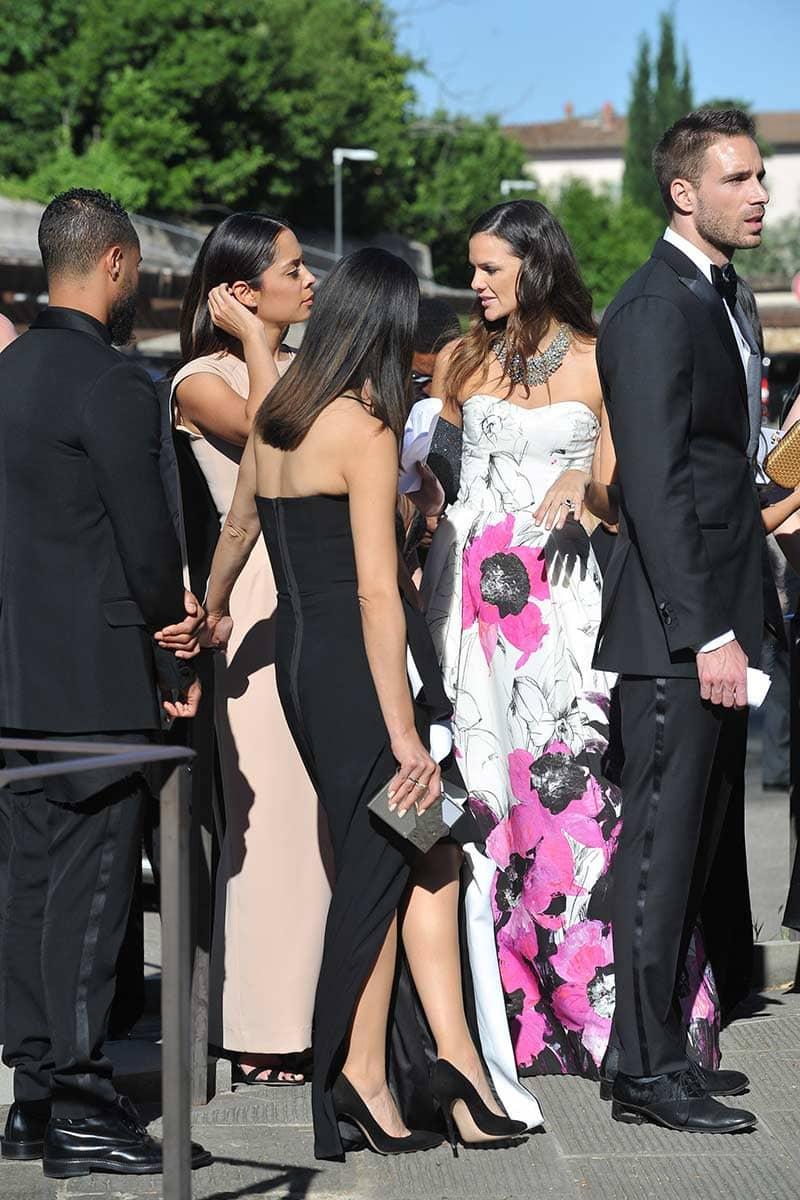 Los mejores vestidos que se vieron en la boda de Kim Kardashian