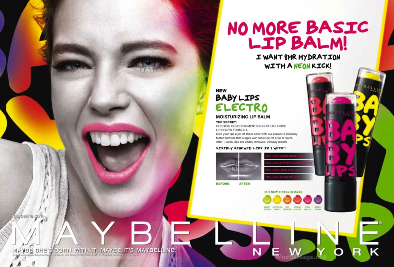 Baby Lips Electro de Maybelline, lo más para este verano