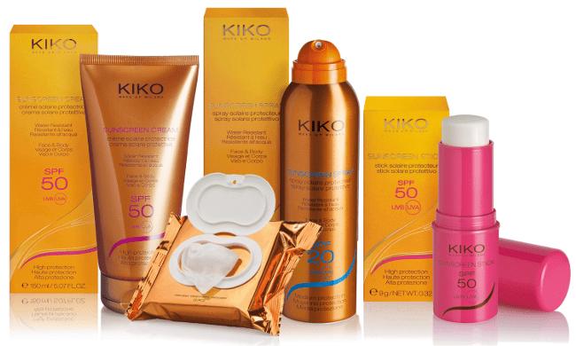 Kiko y sus productos para protegernos del sol
