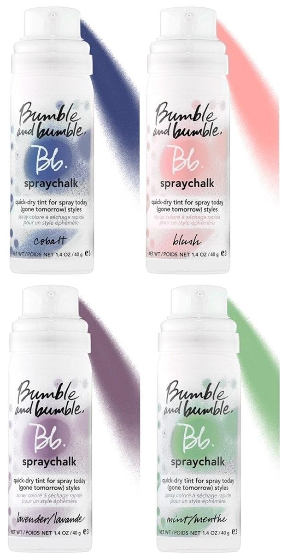 Cambia tu pelo este verano con los SprayChalks de Bumble and Bumble