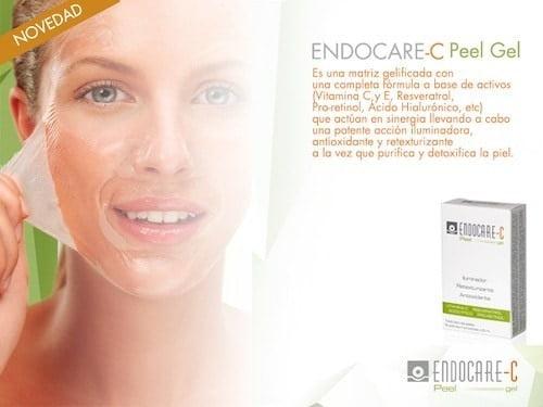 Endocare C peel Gel, nueva mascarilla con vitamina C