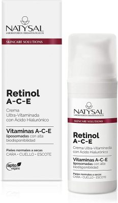 NATYSAL - CREMA RETINOL ANTIARRUGAS 50ML