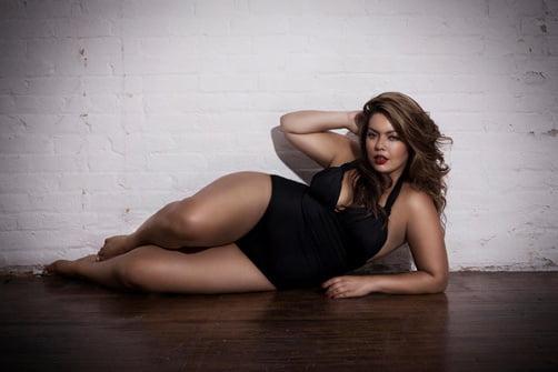 La modelo de tallas grandes Candice Huffine aparecerá en el calendario Pirelli