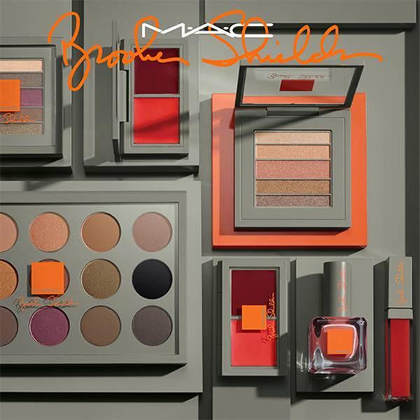 La nueva colección de Brooke Shields para MAC ya va tomando forma