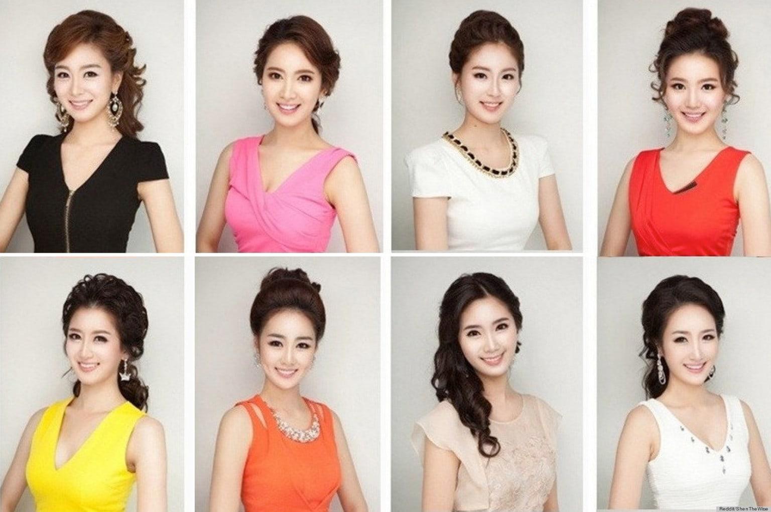 Las asiáticas luchan contra el canon de belleza único