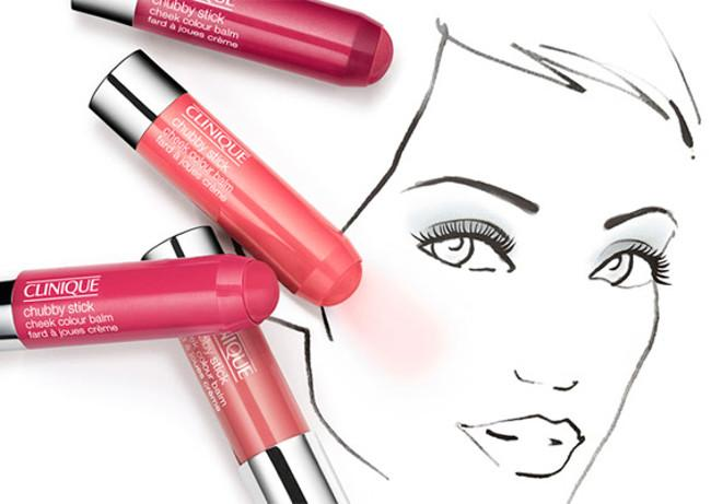 Dale color a tus mejillas con los nuevos Chubby Stick Cheek Color de Clinique