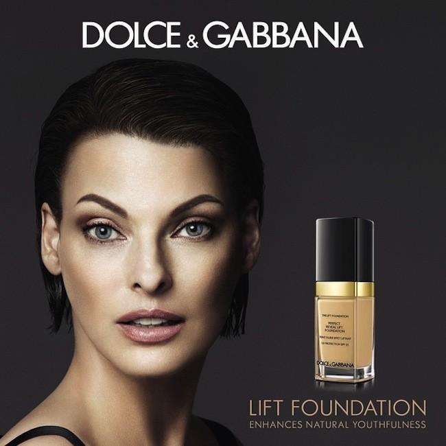 Linda Evangelista, nueva imagen de Dolce & Gabbana