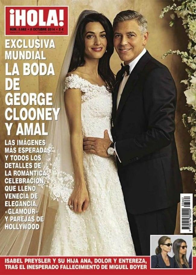 Oscar de la Renta, diseñador del vestido de novia de Amal Alamuddin