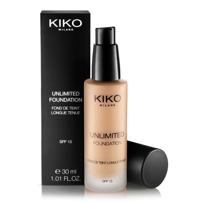 Unlimited Foundation, nueva base de maquillaje de Kiko
