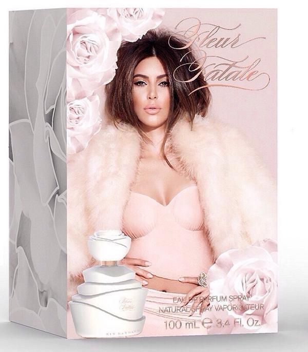 Fleur Fatale, el nuevo perfume de Kim Kardashian