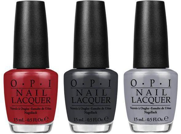 Colección de OPI 50 sombras de Grey