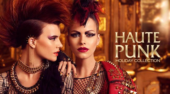 Haute Punk: colección maquillaje Navidad de Kiko