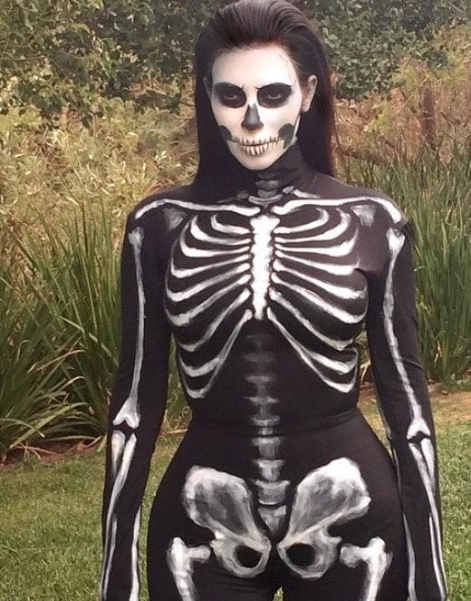 Celebrities y Halloween: combinación explosiva