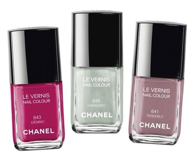 Nuevos esmaltes de Chanel para la primavera 2015
