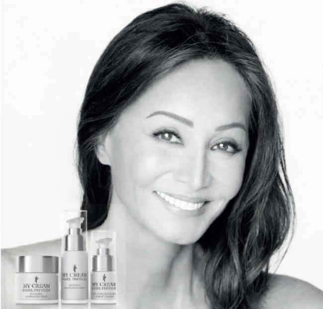 Isabel Preyslera línea cosmética my cream